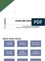 VIT ERP Sales Distribution