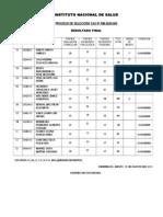 Resultado Final Proceso Cas No. 036-2010-Ins