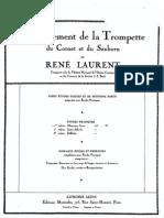 TROMPETE - Laurent, Rene.enseignement de La Trompette
