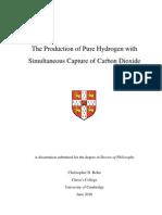 Bohn C D Production of Hydrogen