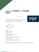 9Maths 7 Triangles