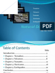 Natural Disasters-Research Project