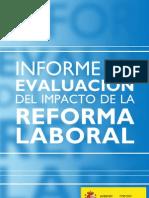 Informe de Evalacion Del Impacto de La Reforma Laboral