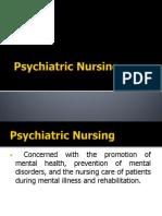 33496209 Psychiatric Nursing
