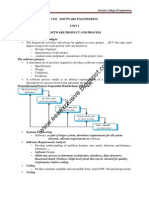 Software Engineering - Notes