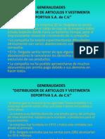 Análisis Distribuidora de Artículos y Vestimenta Deportiva