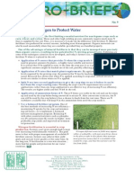 2008. Managing Nitrogen to Protect Water