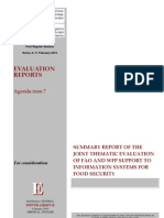 Evalution of Report