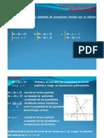 Solucion de Sistemas de Ecuaciones Metodo Grafico