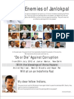 15 Enemies of Janlokpal