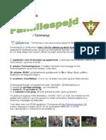 Familiespejderprogram efterår 2014