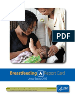 2013 Breastfeeding Report Card