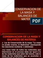 Balance de Masa-2009