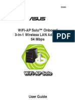 Asus P5WDH-Deluxe WiFi Manual