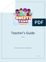 Qwertytown Teacher Guide 1-2