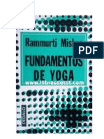 Fundamentos de Yoga (Raja) de Rammurti Mishra