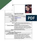 Curriculum Vitae Castellano