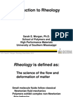 Rheology Notes Introduction to rheology