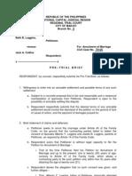 Sample Pretrial Defendant