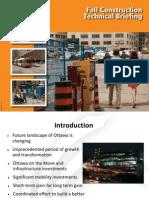 Fall construction in Ottawa