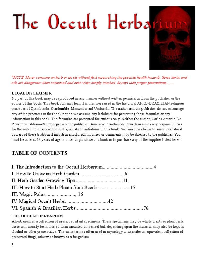 The Occult Herbarium-Carlos | Fertilizer | Soil