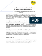 Press release prebióticos