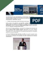 28-08-2013 Rafael Moreno Valle Blog - UN PROYECTO DE DESARROLLO NACIONAL DE GRAN VISIÓN DEBE PONER LA POLÍTICA AL SERVICIO DEL PROGRESO, MORENO VALLE