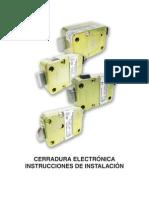 Instalación de cerraduras electricas LA GARD
