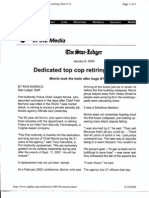 NY B5 PA PD News Post Fdr- Entire Contents- Press Reports- 1st Pgs Scanned for Reference- Fair Use 733