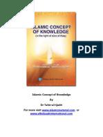 Islamic Concept of Knowledge (www.islamicmaterial.com)