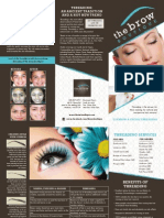 The Brow Boutique Brochure