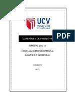 Silabo Materiales de Ingenieria Mejorado 2012 - i - Ing Industrial - Ing. Luis Alva Reyes