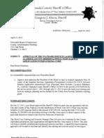 Alameda Co. Sheriff Contract With SAIC, UASI-MTEP