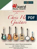 Chris Hein Guitars Manual English