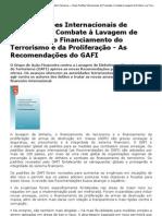 COAF - Conselho de Controle de Atividades Financeiras — Novos Padrões Internacionais de Prevenção e Combate à Lavagem de Dinheiro e ao Financiamento do Terrorismo e da Proliferação - As Recomendações do GAFI