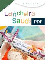 Folder Receitas Lancheira Saudável