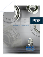 technical bearings catalogue