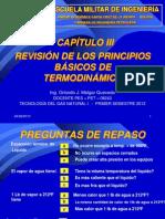 CAPÍTULO Nº 3 - PRINCIPIOS BÁSICOS DE TERMODINÁMICA