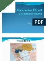 Unidad 4 El imperio Macedónico, Filipo II y Alejandro - Pablo Posada