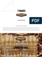 Tyranids Epic Rules