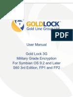 Gold Lock 3G User Manual Symbian