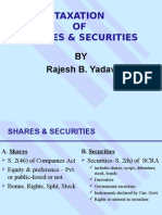 Shares & Securities.ppt Rajesh Yadav