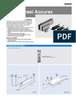 I160E ES 02+Accurax LinearMotor+Datasheet