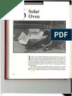 Solar Oven Plans in PDF