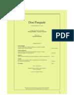 Don Pasquale Libretto