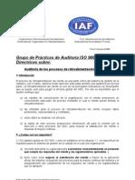 Auditar Proceso RetroalimCliente