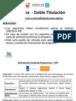 Programa Doble - Becas II