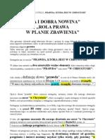 ZŁA NOWINA - ROLA PRAWA