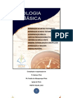 CURSO FORMAÇÃO TEOLOGIA BÁSICA - MÓDULO I