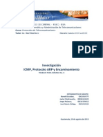 ICMP - ARP - Enrutamiento